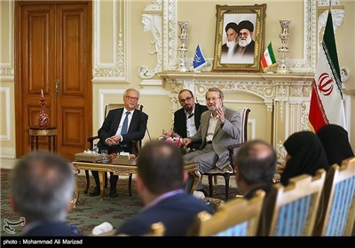 European Delegation Meets Senior Iranian Lawmakers