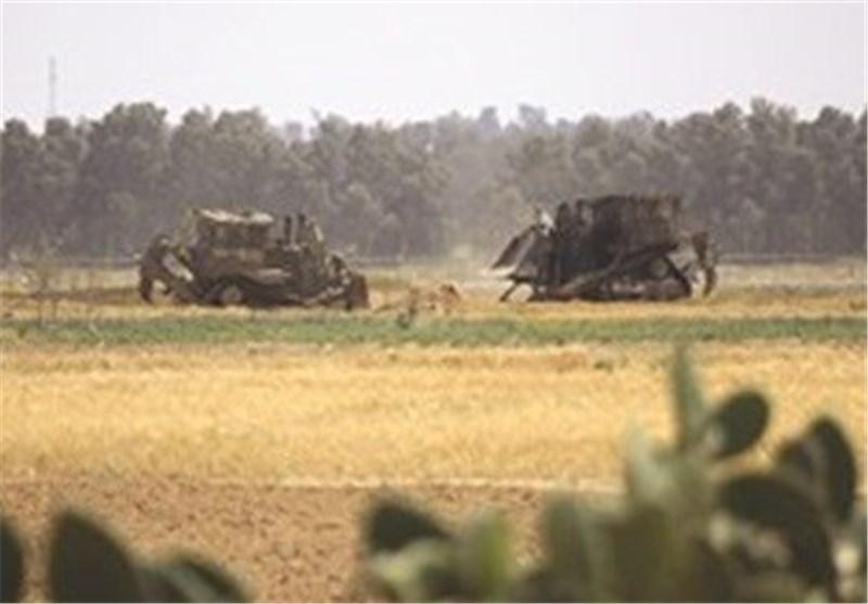 """توغل 5 جرافات عسکریة """"إسرائیلیة"""" شرق قطاع غزة"""