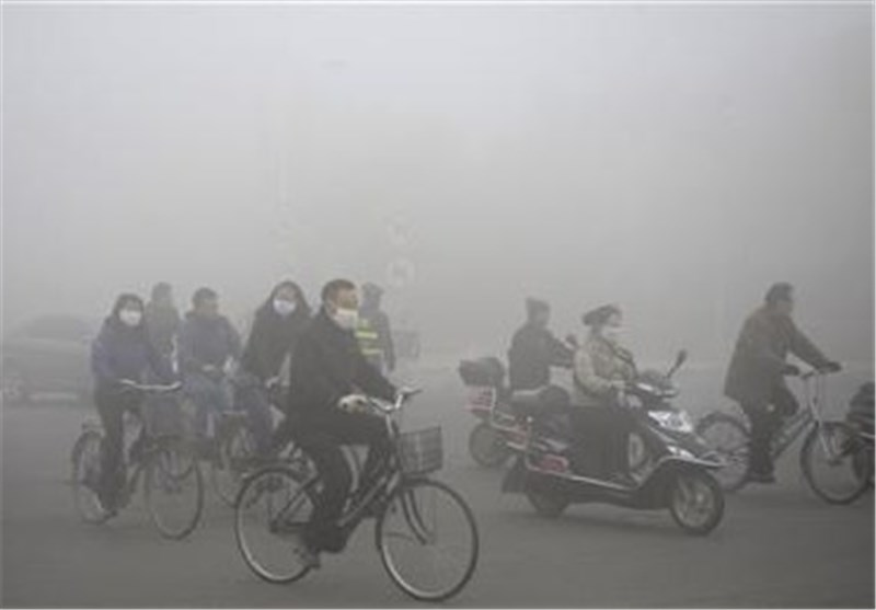 Dangerous Pollution Levels Blight Chinese City