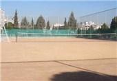 زمین تنیس خاکی مجموعه ورزشی کارگران سمنان افتتاح شد
