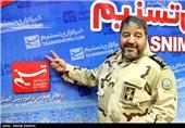 حضور سردار جلالی در خبرگزاری تسنیم