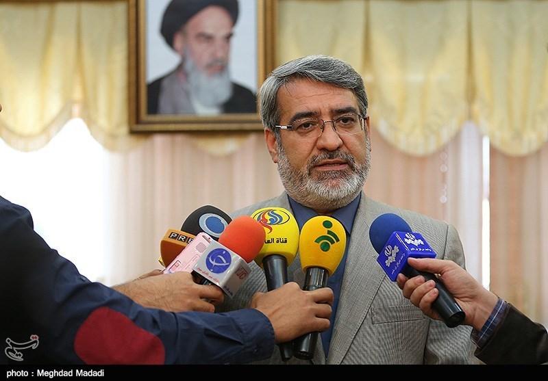 رحمانی فضلی وزیر کشور در جمع خبرنگاران