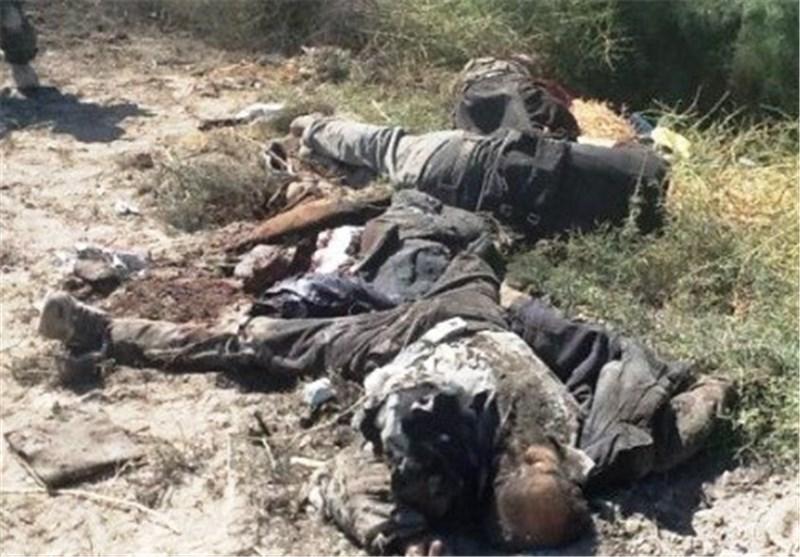 """هلاک واصابة 40 ارهابیا من عصابة """"داعش"""" الارهابیة فی الانبار"""