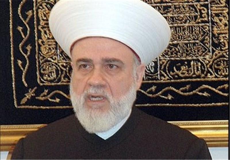 مفتی أهل السنة فی لبنان یهنىء نصر الله بإطلاق سراح المخطوفین اللبنانیین
