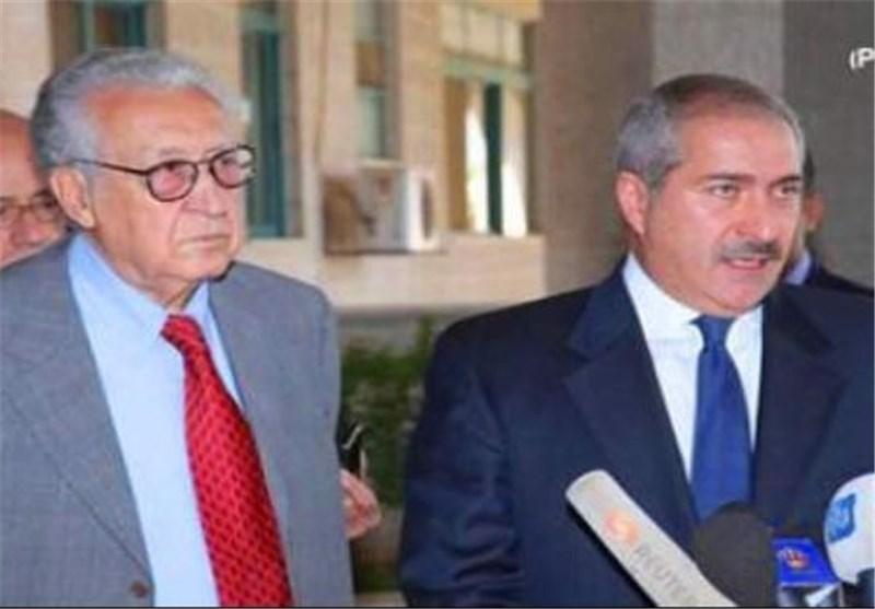 الابراهیمی : هناک شبه اجماع بأن لا حل عسکریاً للازمة السوریة