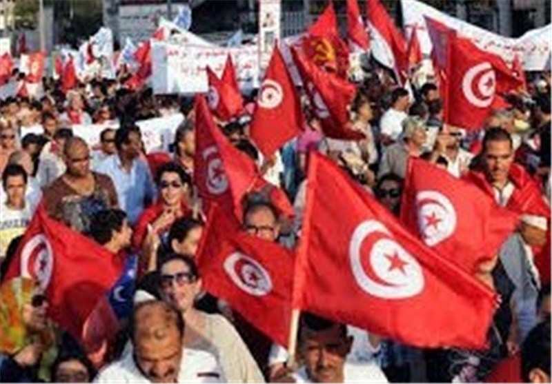 Tunisia Ruling Islamist Party's Office in Kef Torched