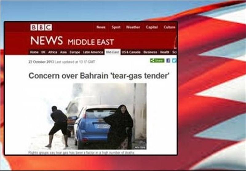 """BBC : النظام الخلیفی یستخدم مسیلات الدموع کـ""""سلاح"""""""