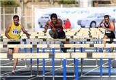 مرحله اول لیگ دوومیدانی  قهرمانی سیار در 110 متر با مانع و محمدی در پرتاب چکش