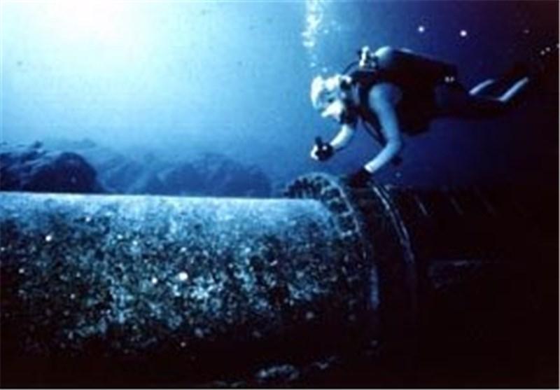 خط لوله زیر دریا