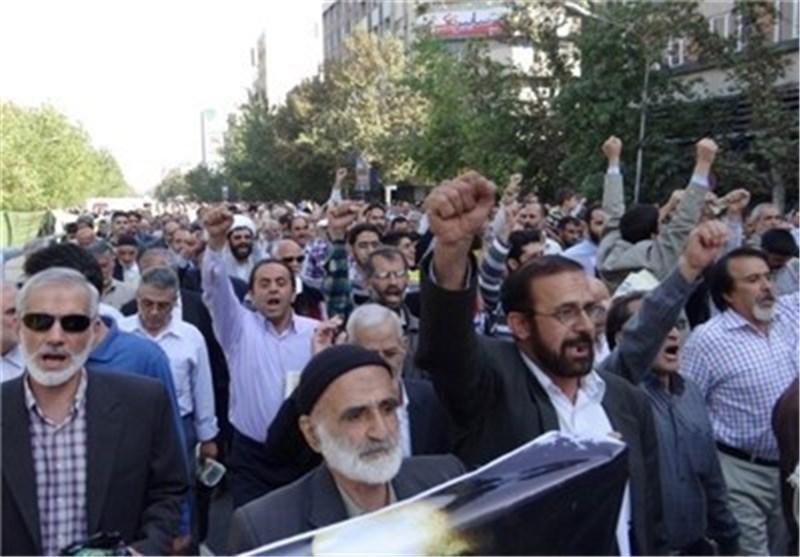 طهران تشهد الیوم تنظیم مسیرة جمعة مطالبة امریکا الاعتذار عن ممارساتها العنصریة