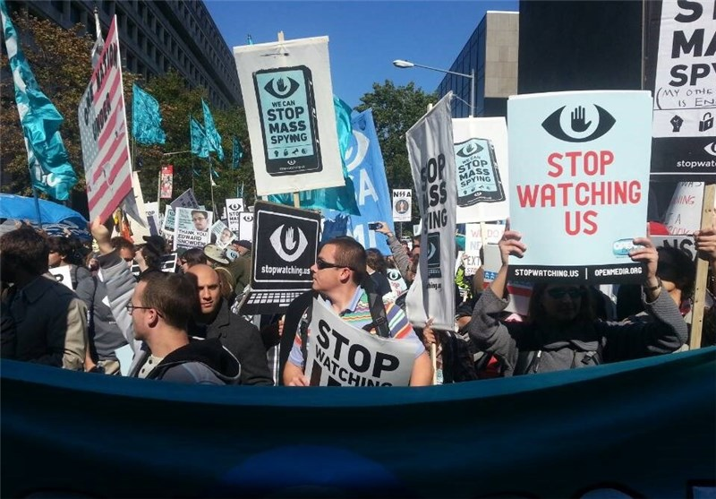 Protesters March in Washington against NSA Spying (+Video)