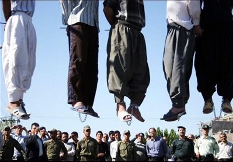 اعدام 5 قاچاقچی مسلح مواد مخدر در شیراز