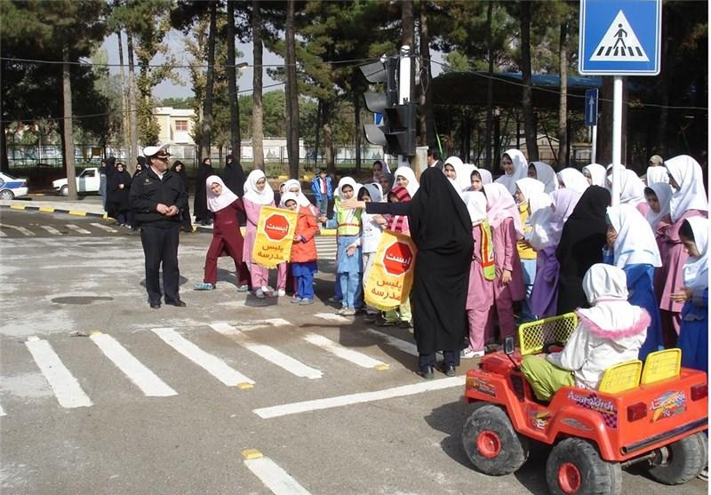 پارک «ترافیک» در کرمانشاه افتتاح شد