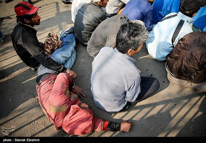 طرح دوباره پلیس برای جمعآوری معتادان متجاهر از دره فرحزاد