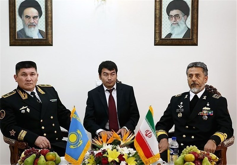 Iranian, Kazakh Navies Sign Defense MoU