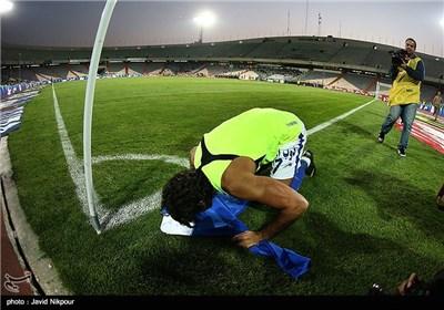 خداحافظی مجیدی از فوتبال در دیدار تیمهای استقلال و مس کرمان