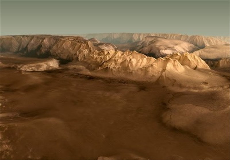 علماء الفلک یعدون خارطة ثلاثیة الأبعاد لسطح المریخ