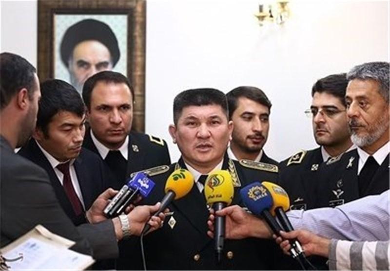 Kazakh Navy Commander Visits Iranian Army Naval Academy