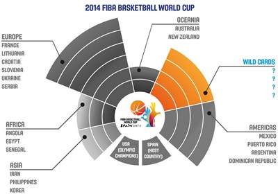 جام جهانی بسکتبال ۲۰۱۴
