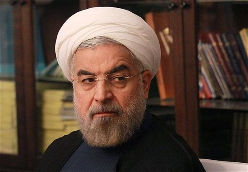 President Rouhani Condoles with Philippine President on Typhoon Disaster
