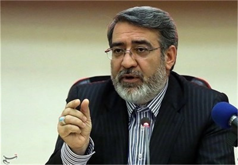 Interior Minister Stresses High Security along Iranian Borders