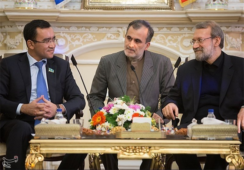Speaker Urges Expansion of Iran-Kazakhstan Ties