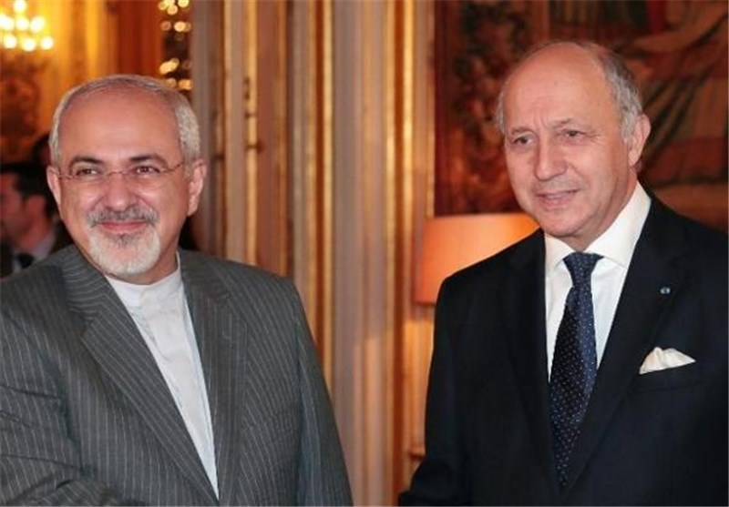 Iran's FM Talks with French Counterpart on Nuclear Issue, Syria