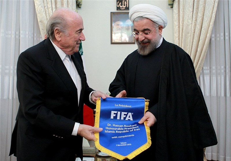 Iran's President Asks FIFA to Help Football in Developing Countries
