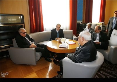 Photos: Zarif Meets Brahimi in Geneva