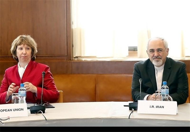 دیدار ظریف و اشتون در ژنو آغاز شد