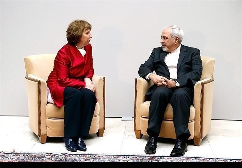 Iran's Zarif, EU's Ashton Wrap Up Bilateral Meeting in Geneva