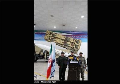 افتتاح خط تولید موشک پدافند هوایی صیاد 2 با حضور سردار دهقان وزیر دفاع