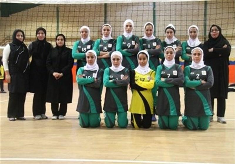 تیم والیبال بانوان شهرداری سمنان