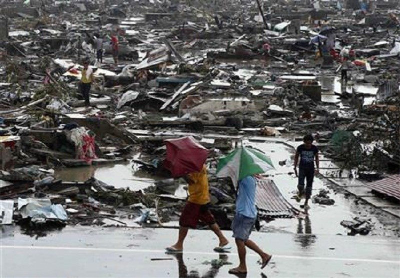 Philippine Typhoon Survivors Begin to Rebuild