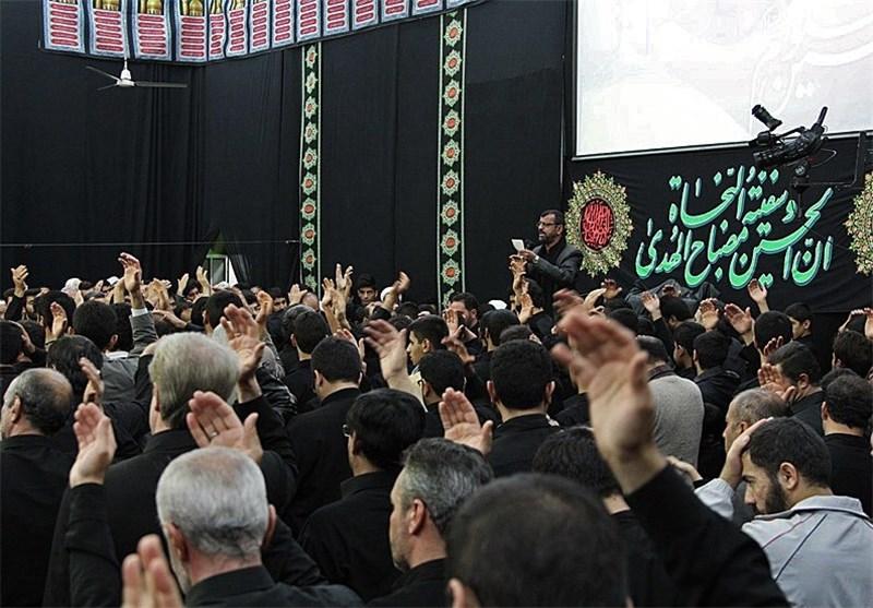 شور و شعور حسینی در حسینیه سنندج + فیلم