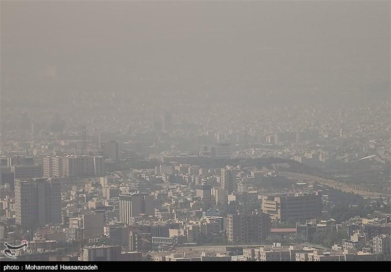 آلودگی هوای شهر تهران کاهش یافت