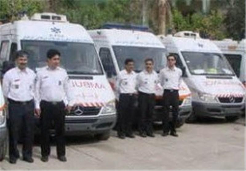 آمادگی اورژانس در استقبال از مجروحان و قربانیان حادثه منا
