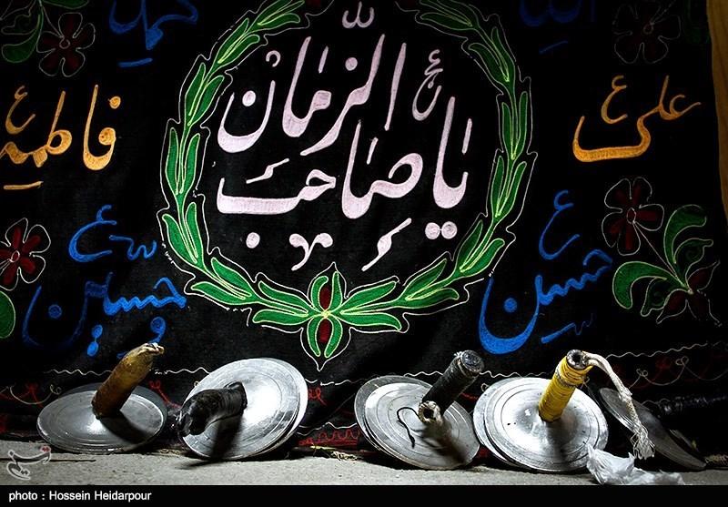 139208211608328891526554 تصاویر/ سنج و دمام در عزاداری بوشهر