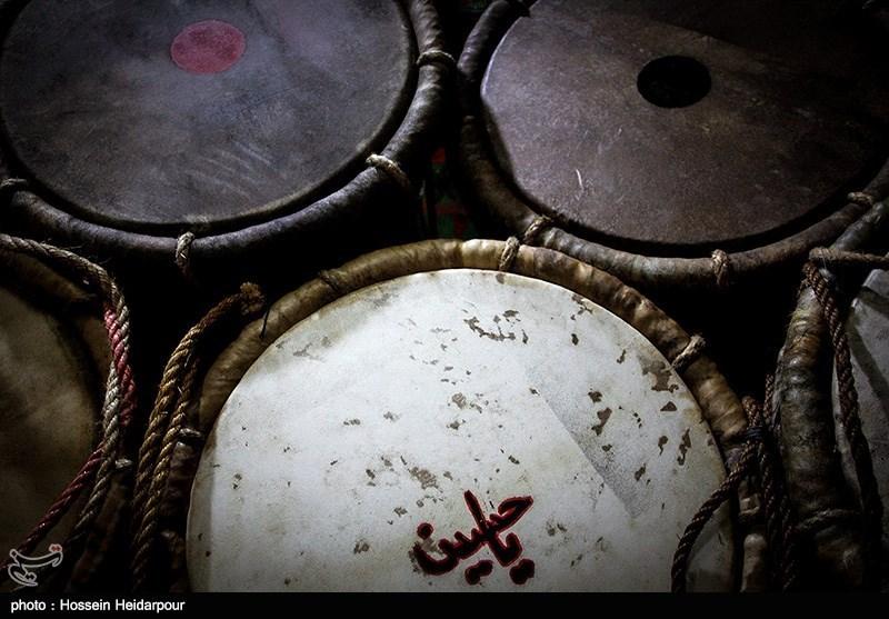 139208211608329511526554 تصاویر/ سنج و دمام در عزاداری بوشهر