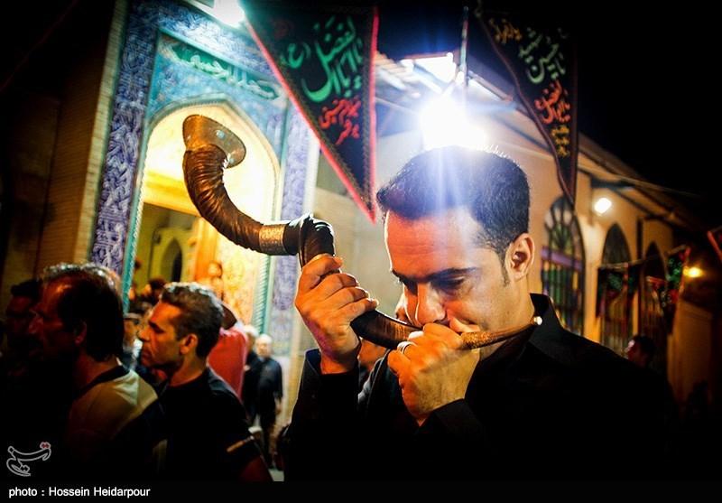 139208211608334511526554 تصاویر/ سنج و دمام در عزاداری بوشهر