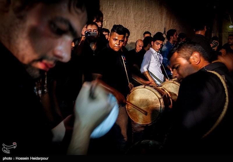 139208211608346831526554 تصاویر/ سنج و دمام در عزاداری بوشهر