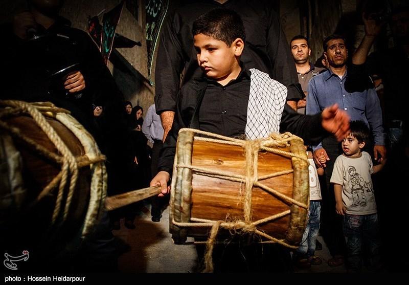 139208211624395031527014 تصاویر/ سنج و دمام در عزاداری بوشهر