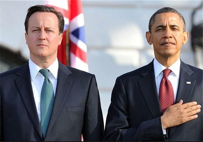 رایزنی اوباما و کامرون درباره جنگ با داعش
