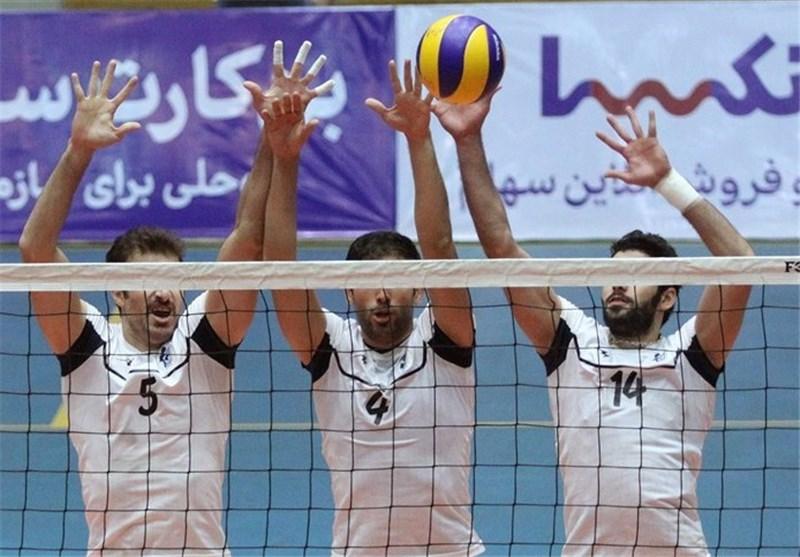 تیم والیبال شهدای ورزش کرمانشاه به دیدار نهایی راه یافت
