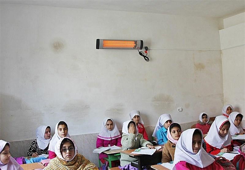19 مدرسه سقز با بخاری تابشی گرم میشوند