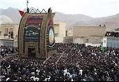 آئین کهن نخل برداری در مهریز برگزار شد