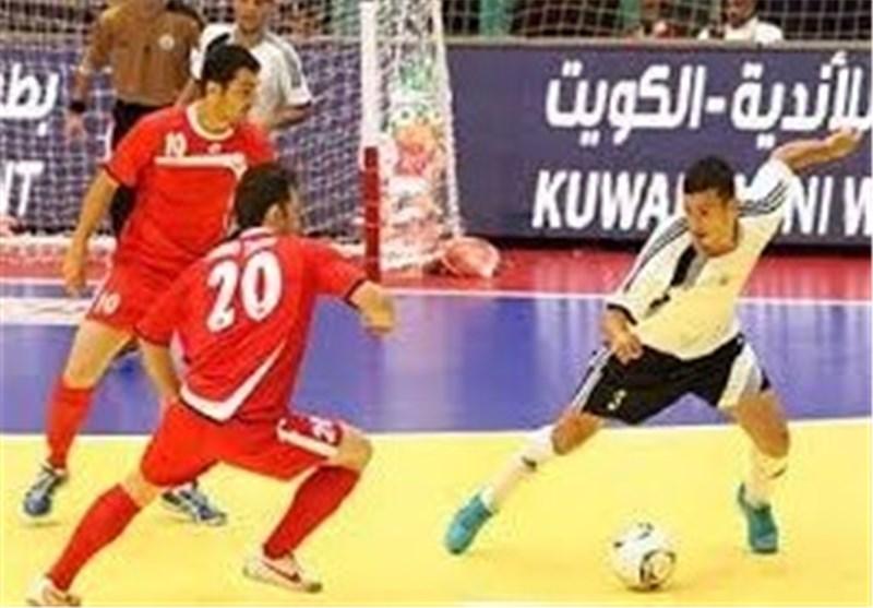 تیم فوتسال شهرداری ساوه از گیتی پسند اصفهان شکست خورد