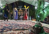 برپایی مراسم تعزیه خوانی 28 صفر در امامزاده سید عبدالله