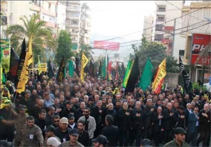 مسيرة حاشدة فی لبنان