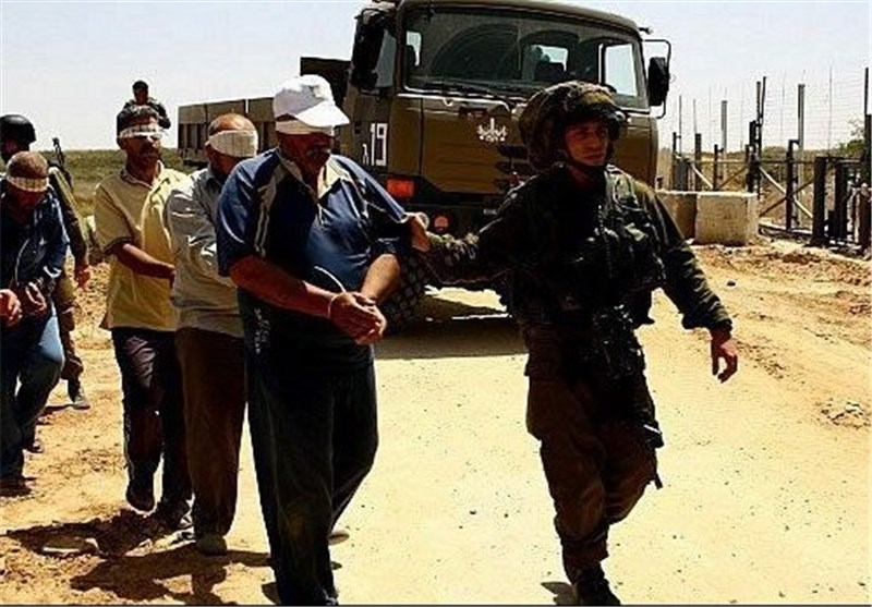 100 Palestinians Detained for Throwing Stones